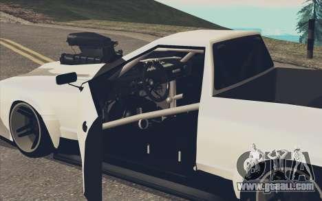 Elegy Ibragim for GTA San Andreas left view