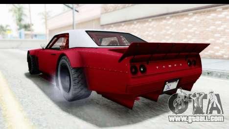GTA 5 Declasse Drift Tampa IVF for GTA San Andreas right view