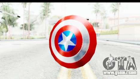 Capitan America Shield Classic for GTA San Andreas