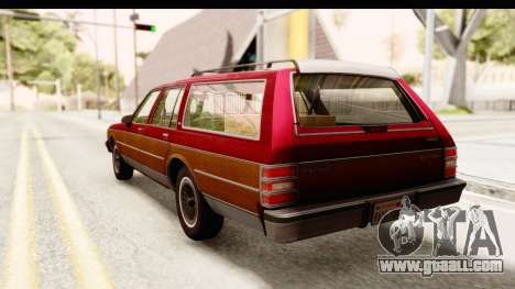 Chevrolet Caprice 1989 Station Wagon IVF for GTA San Andreas left view