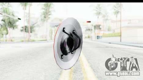 Capitan America Shield Classic for GTA San Andreas second screenshot