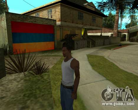 Garage CJ Armenian for GTA San Andreas