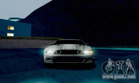 Ford Mustang for GTA San Andreas back view