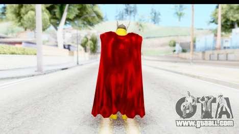 Marvel Heroes - Thor for GTA San Andreas third screenshot