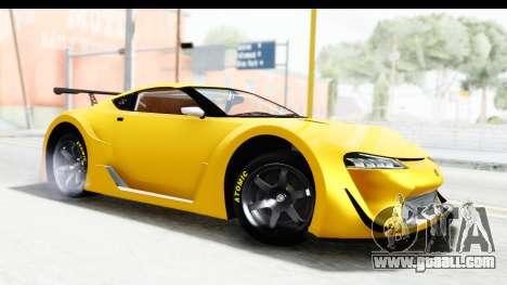 GTA 5 Emperor ETR1 v2 SA Lights for GTA San Andreas