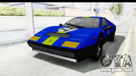 Ferrari 512 GT4 BB 1976 for GTA San Andreas inner view