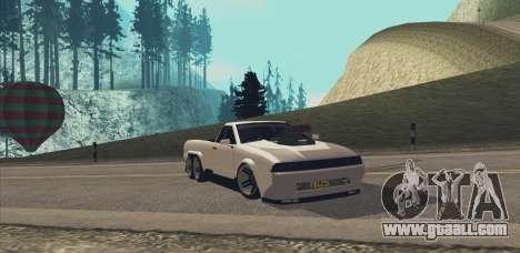 Elegy Ibragim for GTA San Andreas right view