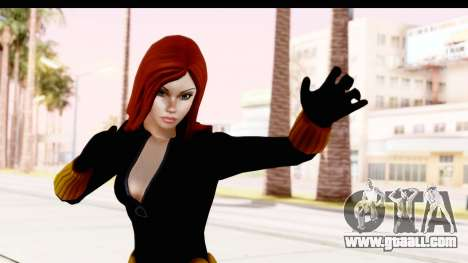 Marvel Heroes - Black Widow for GTA San Andreas