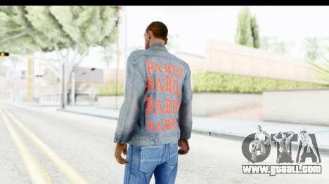 PABLO Denim Jacket for GTA San Andreas second screenshot