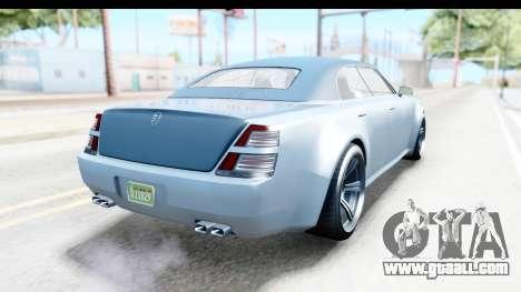 GTA 5 Enus Windsor Drop IVF for GTA San Andreas back left view