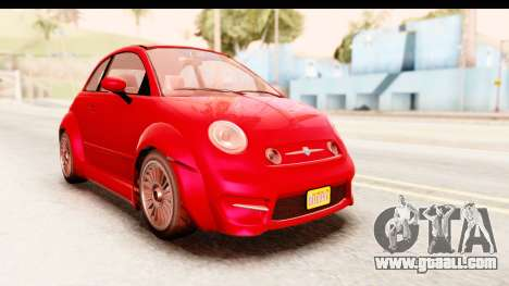 GTA 5 Grotti Brioso IVF for GTA San Andreas