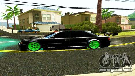 BMW 750 E38 Hamann Turbo Sports for GTA San Andreas back left view
