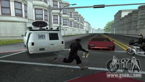 Newsvan Follow You for GTA San Andreas second screenshot