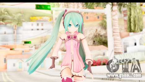 Project Diva F - Hatsune Miku Vocal Star Remade for GTA San Andreas