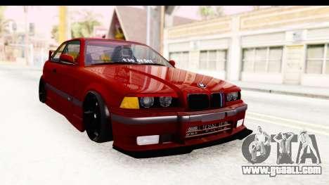 BMW M3 E36 Spermatozoid Edition for GTA San Andreas right view