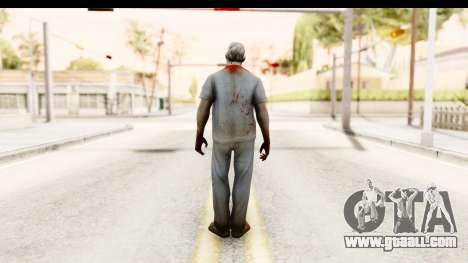 Left 4 Dead 2 - Zombie Surgeon for GTA San Andreas third screenshot