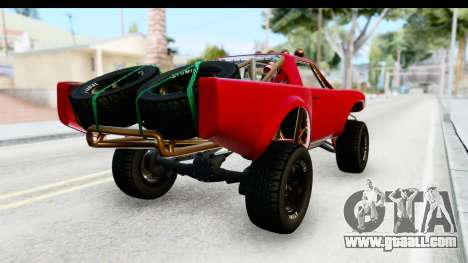 GTA 5 Trophy Truck SA Lights for GTA San Andreas back left view