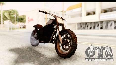 GTA 5 Western Cliffhanger Stock for GTA San Andreas