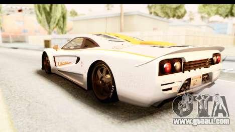 GTA 5 Progen Tyrus SA Style for GTA San Andreas interior
