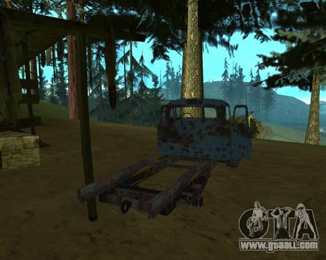 Old rusty GAS 53 for GTA San Andreas third screenshot