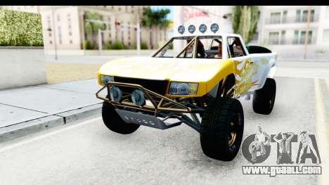GTA 5 Trophy Truck SA Lights for GTA San Andreas side view