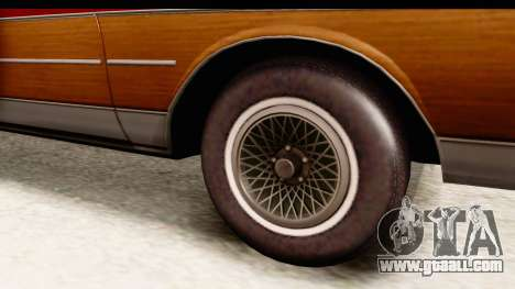 Chevrolet Caprice 1989 Station Wagon IVF for GTA San Andreas back view