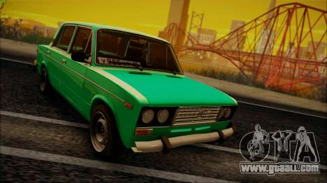 VAZ 2106 Shaherizada GVR for GTA San Andreas