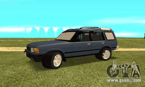 Land Rover Discovery 2B for GTA San Andreas right view