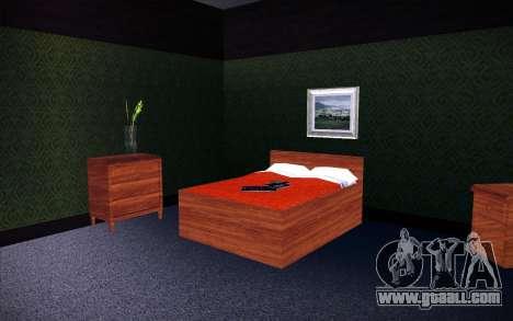New CJ House for GTA San Andreas forth screenshot