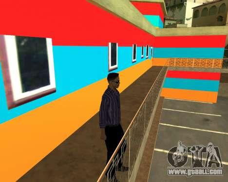 Armenian Jeferson for GTA San Andreas seventh screenshot