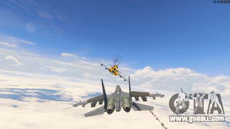 GTA 5 Su-30МКК HQ Chinese ninth screenshot