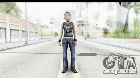 Silent Hill 3 - Heather Sporty Dark Gray Obama for GTA San Andreas second screenshot