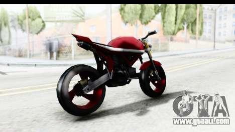 Custom Stunt FCR9000 for GTA San Andreas left view