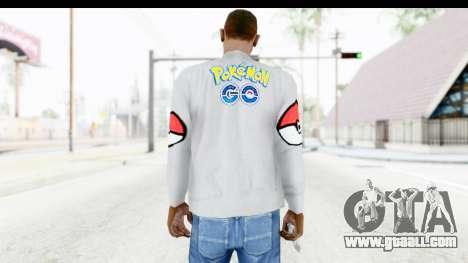 Sweat Pokemon Go Pikachu for GTA San Andreas second screenshot