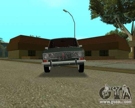 VAZ 2103 Armenian for GTA San Andreas back left view