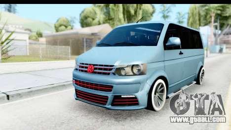 Volkswagen Caravelle for GTA San Andreas