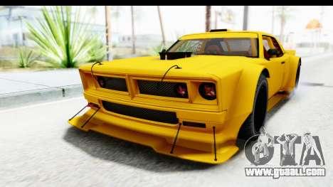 GTA 5 Declasse Drift Tampa for GTA San Andreas back left view