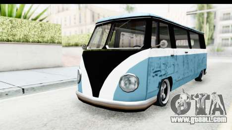 New Camper for GTA San Andreas right view