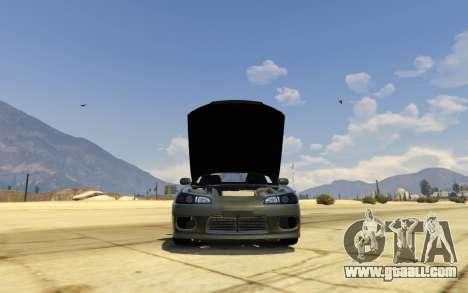 GTA 5 Nissan SIlvia S15 v0.9 left side view