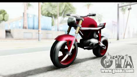 Custom Stunt FCR9000 for GTA San Andreas right view
