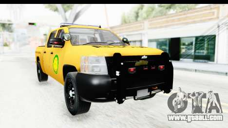 Chevrolet Silvedaro Basarnas for GTA San Andreas right view