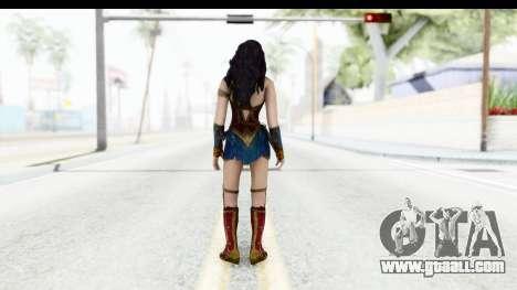 Injustice God Among Us - Wonder Woman BVS for GTA San Andreas third screenshot