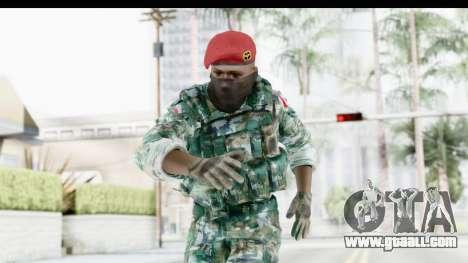 Global Warfare Indonesia for GTA San Andreas