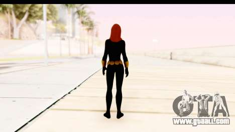 Marvel Heroes - Black Widow for GTA San Andreas third screenshot