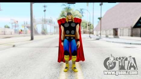 Marvel Heroes - Thor for GTA San Andreas second screenshot