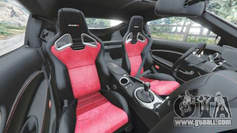 GTA 5 Nissan 370Z Nismo Z34 2016 [replace] steering wheel
