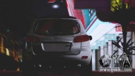 Hyundai Santa Fe Stock for GTA San Andreas side view