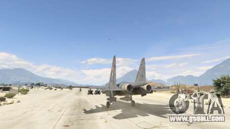 GTA 5 Su-30МКК HQ Chinese third screenshot