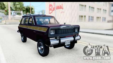 Jeep Grand Wagoneer for GTA San Andreas