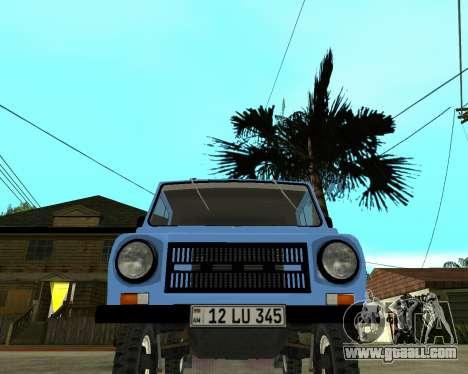 Luaz 969 Armenian for GTA San Andreas left view
